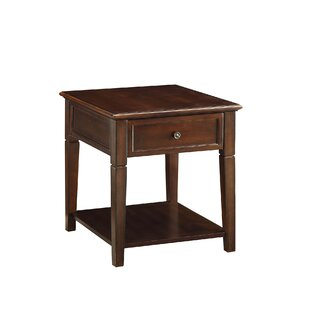 Shurtleff End Table With Storage By Red Barrel Studio