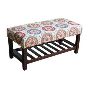 Loganville Fabric Storage Bench