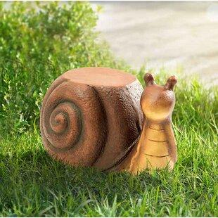 August Grove Ridgewood Snail Garden Stool
