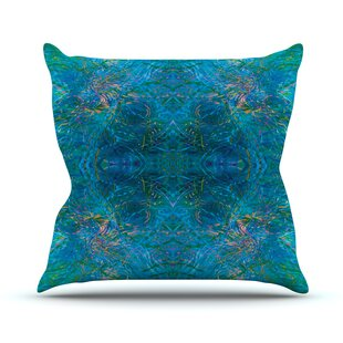 Clearwater By Nikposium Throw Pillow