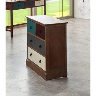 Hailee 4 Drawer Chest By World Menagerie