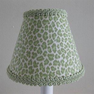 Leopard print lamp shade wayfair leopard print 11 fabric empire lamp shade aloadofball Image collections
