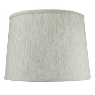 14 Shantung Drum Lamp Shade