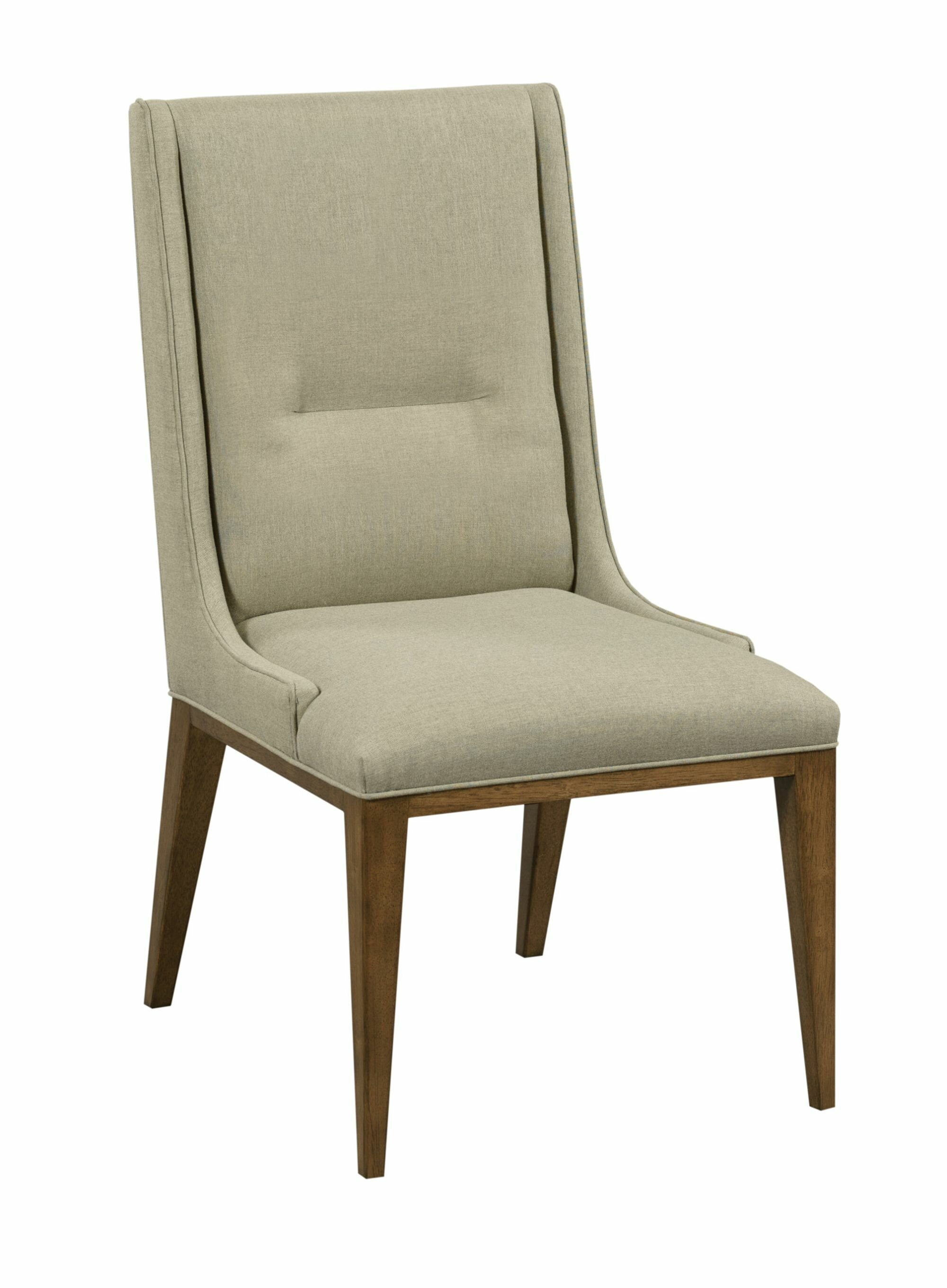 Gretchen Upholstered Parsons Dining Chair In White