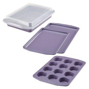 5 Piece Non-Stick Speckle Bakeware Set