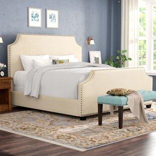 Alcott Hill Bulpitt Upholstered Panel Bed
