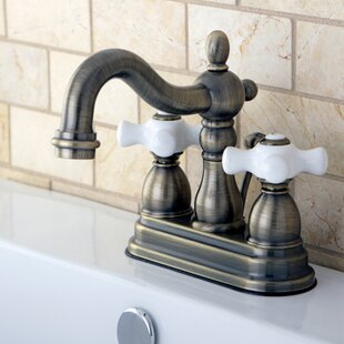 Antique Brass Bathroom Sink Faucets Youll Love - Brushed brass bathroom faucets