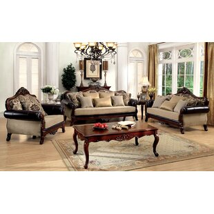 Astoria Grand Romo 3 Piece Living Room Set