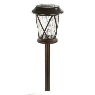 Paradise Garden Lighting Solar 1-Light LED Pathway Light