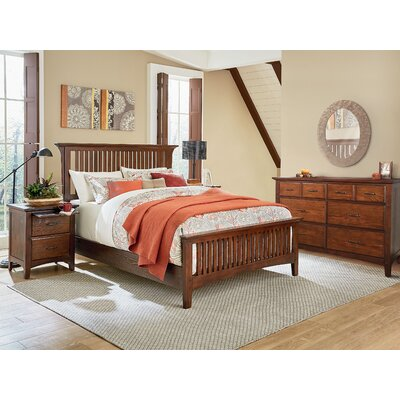 Yogyakarta Standard 3 Piece Bedroom Set Bed Size: Queen