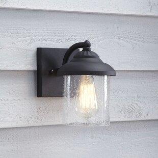 Outdoor wall lighting barn lights youll love wayfair landers outdoor sconce workwithnaturefo