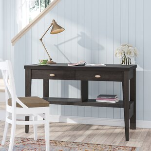 Compare prices Luzerne 2 Drawers Writing Desk By Three Posts