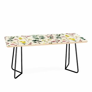 Online Reviews Wildflower Study Coffee Table by East Urban Home Reviews (2019) & Buyer's Guide