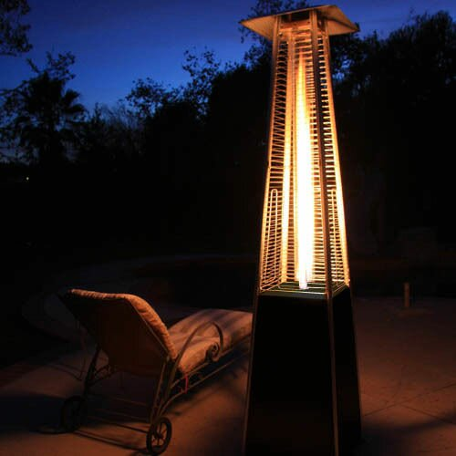 Ordinaire Dancing Flames Pyramid Outdoor 34,000 BTU Propane Patio Heater