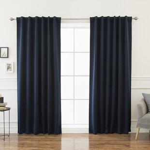 Blue 96 Inch Curtains Wayfair
