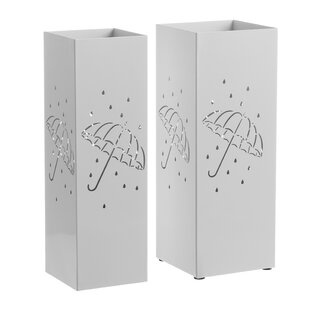 Trindle 2 Piece Umbrella Stand Set (Set Of 2) By 17 Stories