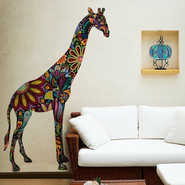 giraffe wall decal | wayfair