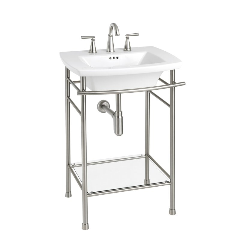 Console Sink Ideas Timeless Classic Bathroom Hello Lovely