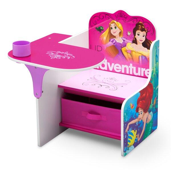 Delta Children Disney Princess Kids Novelty Chair With Storage Compartment  | Wayfair
