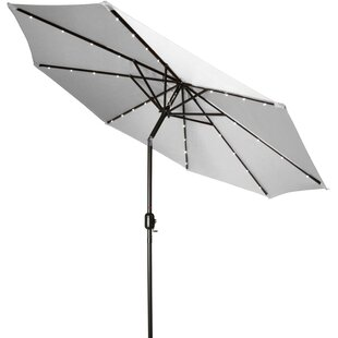 Burnley Solar LED 7' Market Umbrella