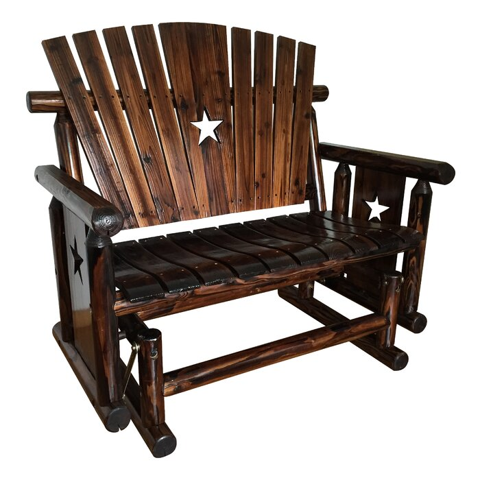 Pleasant Ardoin Tri Star Glider Bench Pabps2019 Chair Design Images Pabps2019Com