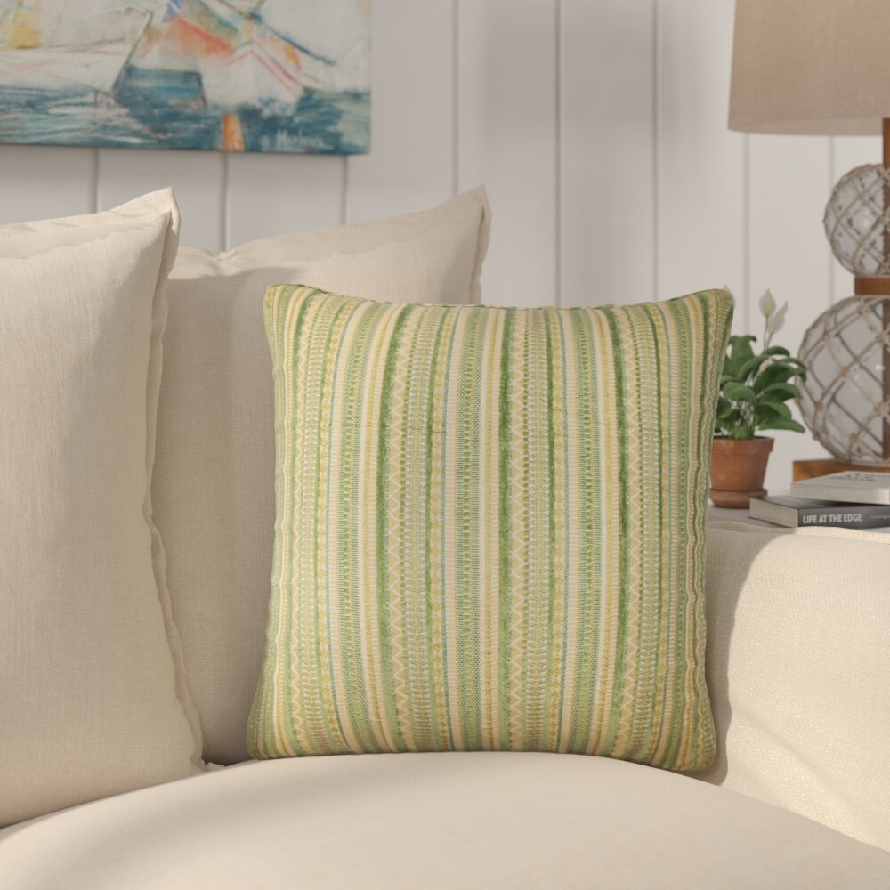 Bayou Breeze Atisha Striped Throw Pillow Wayfair