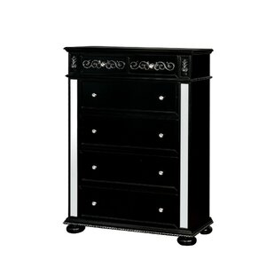 Mission Solid Wood 6 Drawer Chest by Rosdorf Park