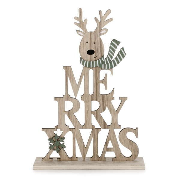 the holiday aisle merry xmas reindeer wayfair