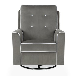 Stannard Reclining Swivel Glider by Harriet Bee