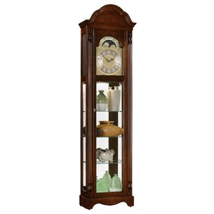 Clarksburg Quartz 79 Grandfather Clock by Ridgeway Clocks