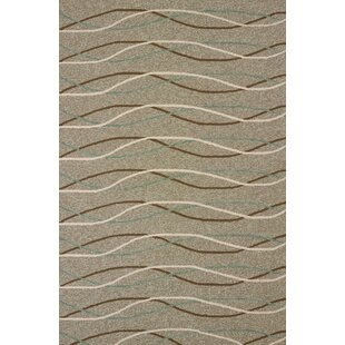 Teneyck Atrium Handmade Brown/Gray Indoor/Outdoor Area Rug