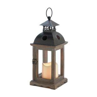 Wood Lantern by Breakwater..