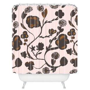 Savings Ammerman Floral II Shower Curtain ByBrayden Studio