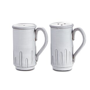 Bella Bianca 2-Piece Salt and Pepper Set