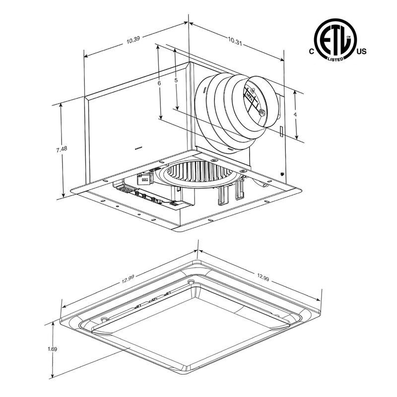 Wiring Bathroom Fan Light Heater Combination