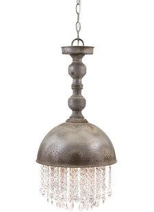 Woodland Imports Marley 1-Light Dome Pendant