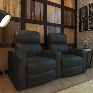 Home Theater Recliner (Row Of 2) by Red Barrel Studio Savings