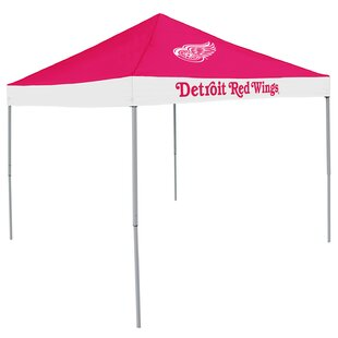 NHL Detroit Red Wings 9 Ft. W x 9 Ft. D Steel Pop-Up Canopy by Logo Brands