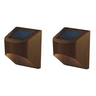Deck Impressions Solar 2 Light LED Deck Light (Set of 2)