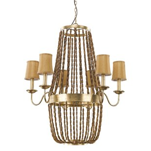 Marcia 6-Light Chandelier by Rosdorf Park