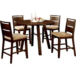 Shrader 5 Piece Dining Set by Hokku Designs