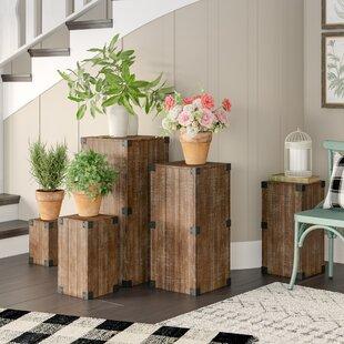 Savings Harland 5 Piece Pedestal Plant Stand Set ByGracie Oaks
