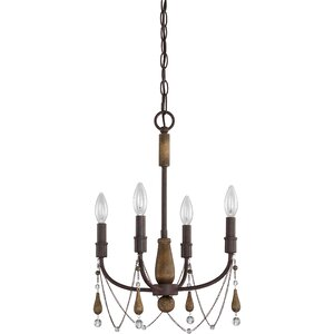 Alsace 4-Light Candle-Style Chandelier