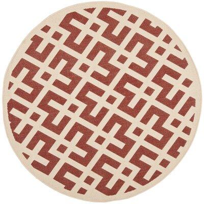 Wrought Studio Sherree Geometric Flatweave Red Bone Area Rug Reviews Wayfair