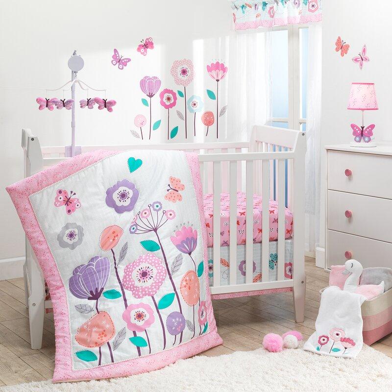 Magic Garden 3 Piece Crib Bedding Set