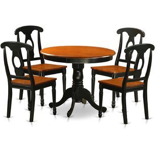 5 Piece Dining Set by East West Furniture Fresh