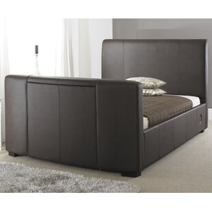Plain Upholstered TV Bed By Wade Logan