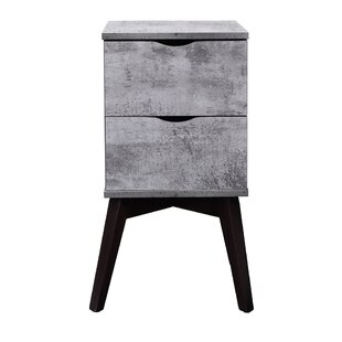 Jarred 2 Drawer Nightstand