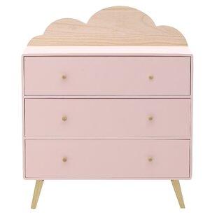 Hathaway 3 Drawer Dresser By Zoomie Kids