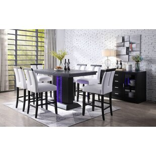 Buford 7 Piece Pub Table Set by House of Hampton